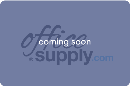 Office supplies. Coming soon.