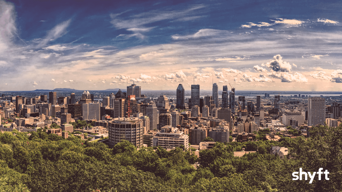 Montreal skyline during the day