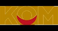 Logo Kwaliteitskeurmerk Onafhankelijke Mondzorg (KOM)