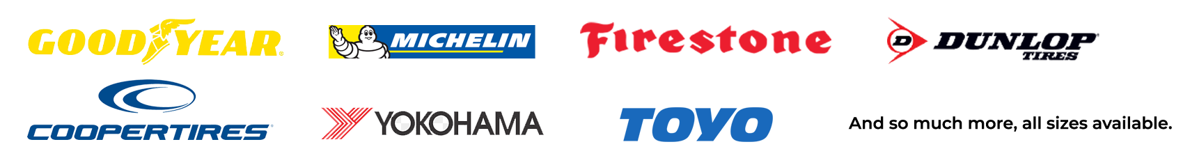 Car and Truck Tire Brands