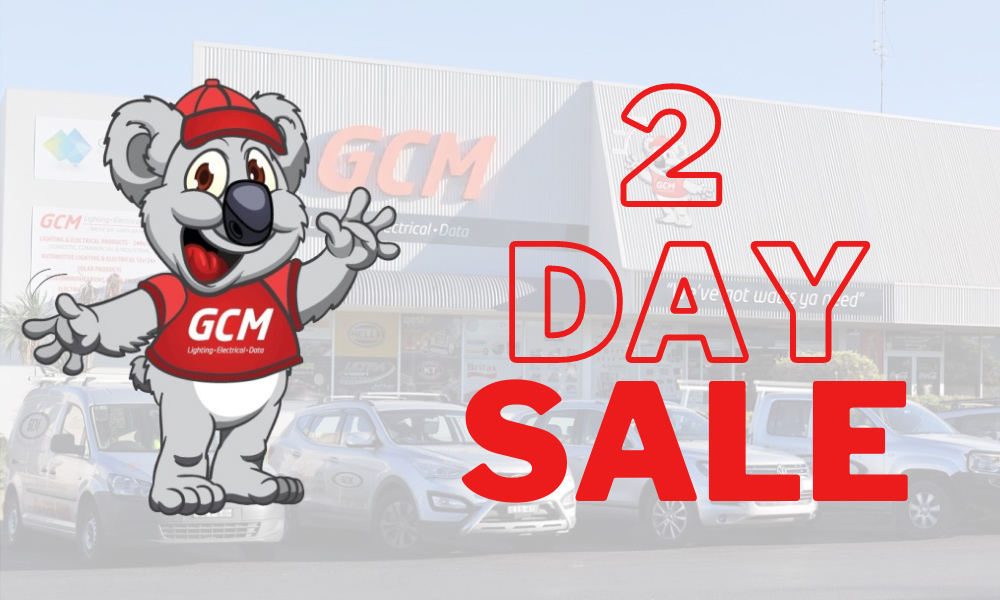 Annual GCM 2 Day Sale
