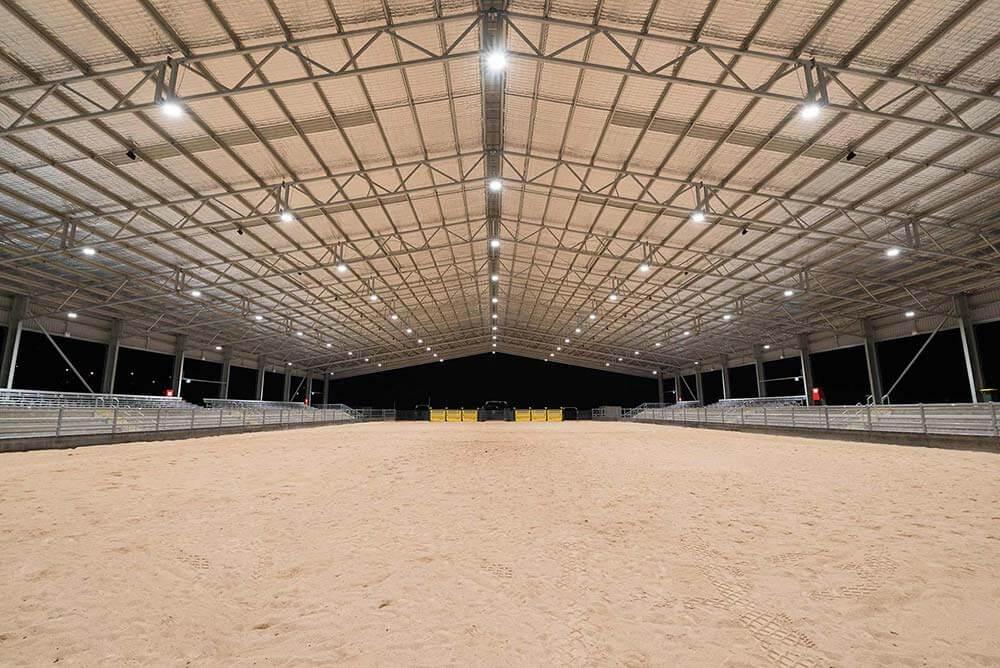 Scone's White Park New Arena Lighting