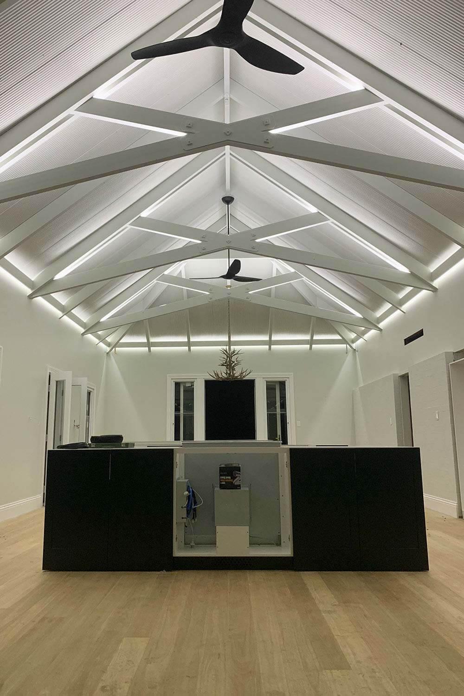 Architectural Indoor LED Strip Lighting