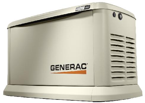 GENERAC 8KVA 1PH Aircooled Standby Gas Generator