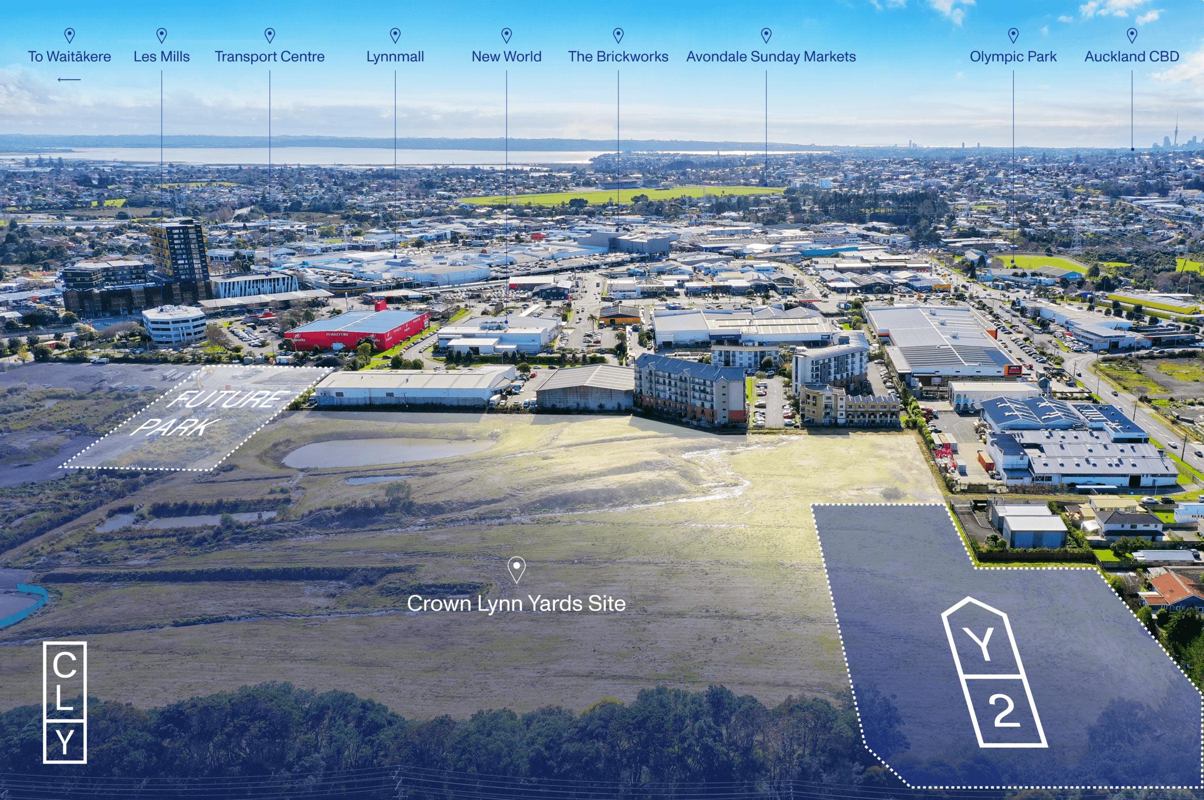 Crown Lynn Yards Aerial
