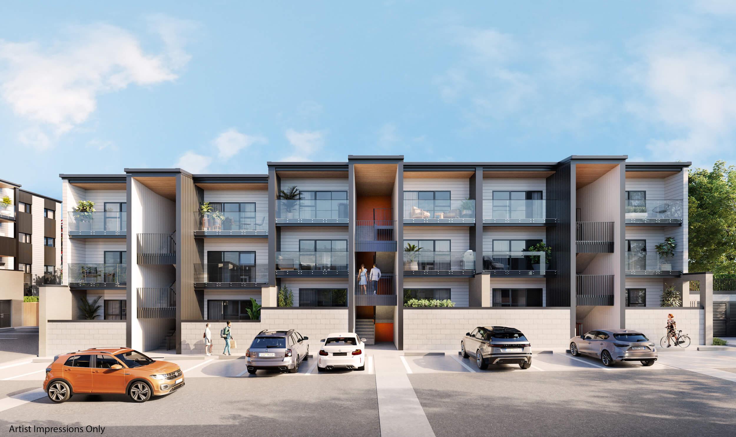 Crown Lynn Yards Y-2 Apartments Exterior