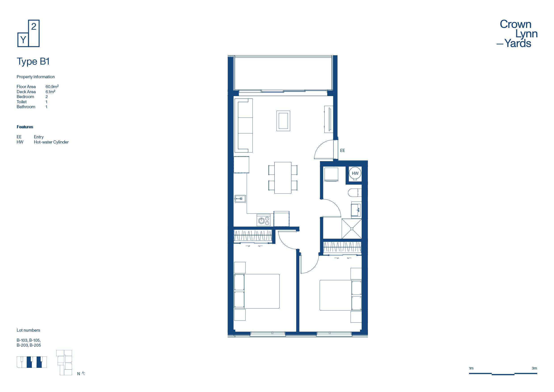 CLY Apartment Floor Plan Type B1