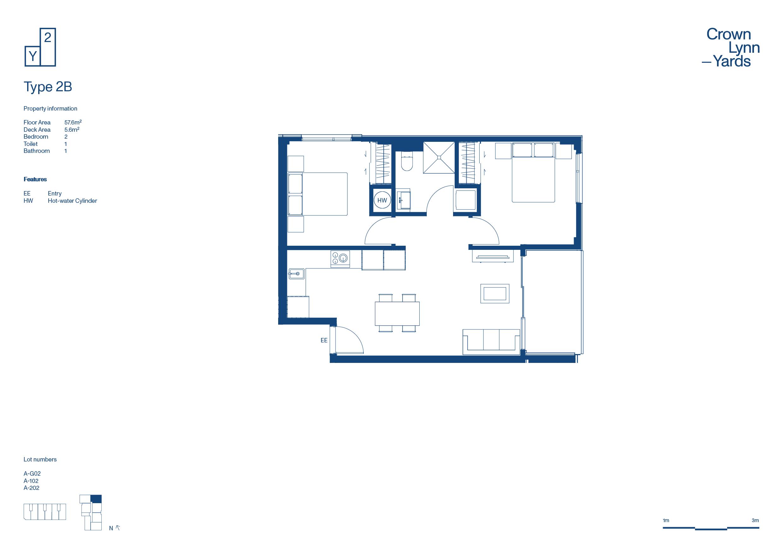 CLY Apartment Floor Plan Type 2B