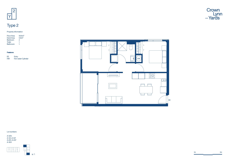 CLY Apartment Floor Plan Type 2