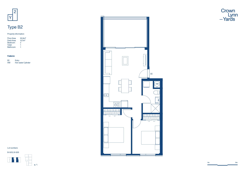 CLY Apartment Floor Plan Type B2
