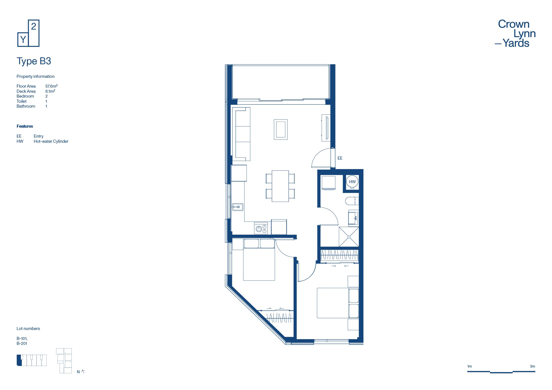 CLY Apartment Floor Plan Type B3