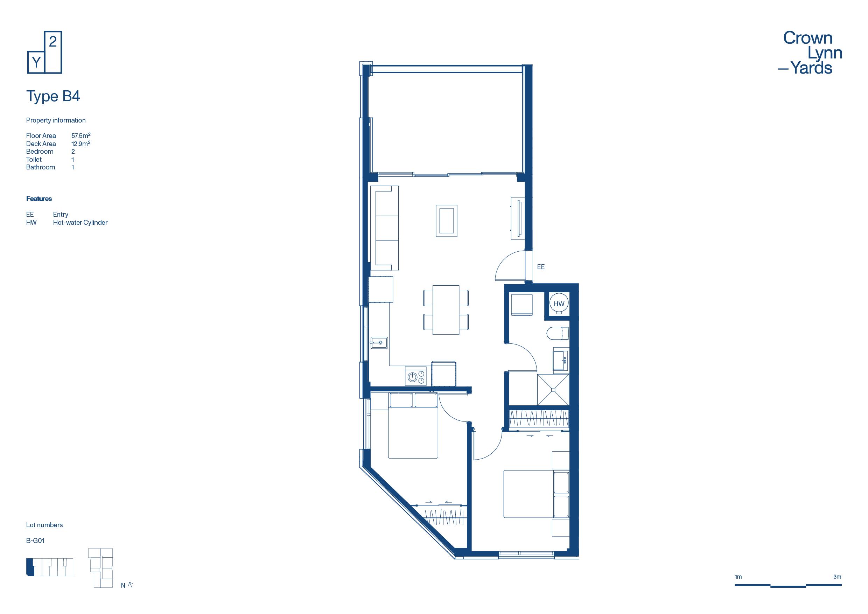 CLY Apartment Floor Plan Type B4