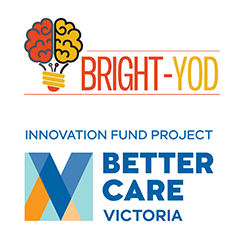 Better Care Victoria BRIGHT-YOD Project Logos