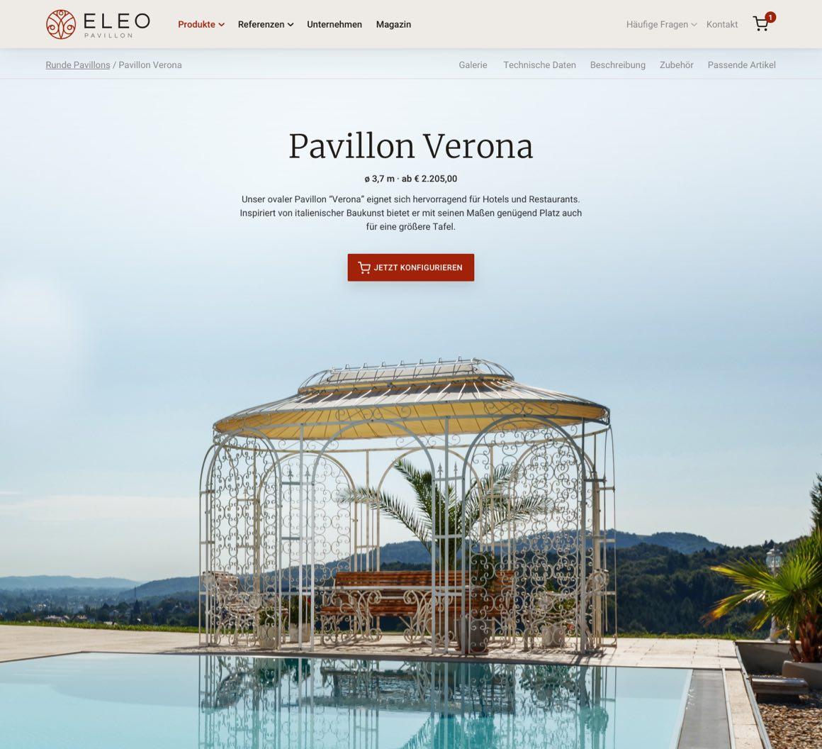 Webdesign Projekt Layout