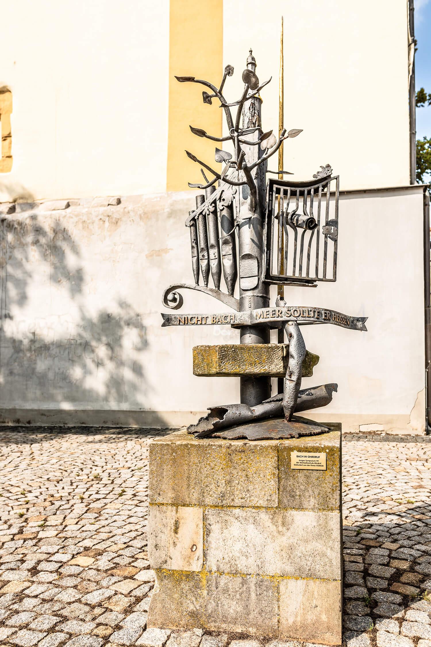 Bachdenkmal/Clemens Bauerfeind
