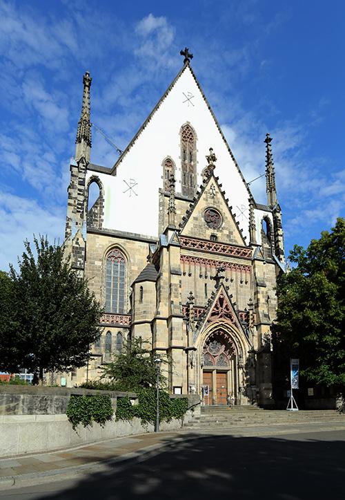 Thomaskirche zu LeipzigThomaskirche zu Leipzig / Foto Gert Mothes