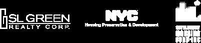 SLGreen, nyc and housing logos