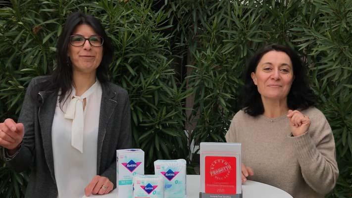 Nuvenia Pure Sensitive - Eletto Prodotto dell'Anno 2021 - Assorbenti