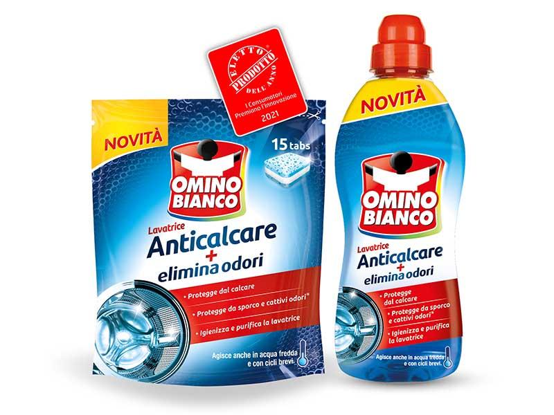 Omino Bianco Lavatrice Anticalcare