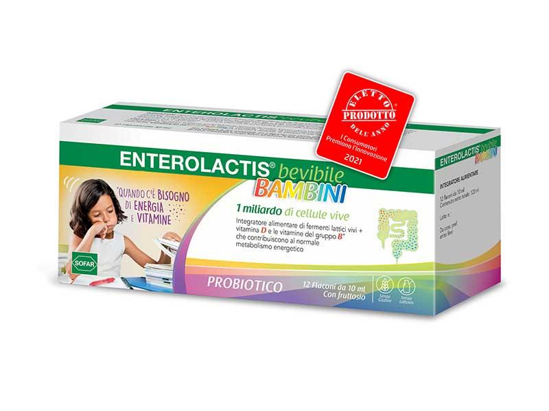 Enterolactis Bevibile Bambini