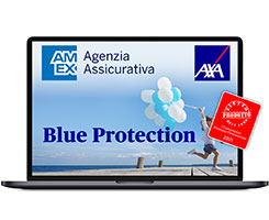 AXA Blue Protection distribuito daAmex