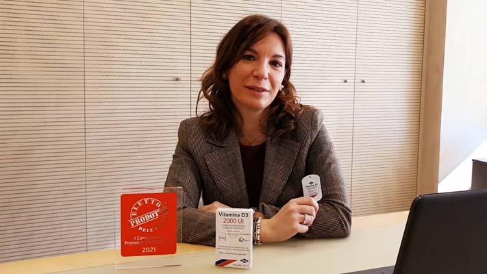 IBSA Vitamina D3 - Eletto Prodotto dell'Anno 2021 - Integratori vitamina D