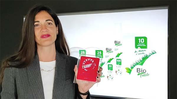 BioTable - Prodotto dell'Anno 2021 - Prodotti monouso