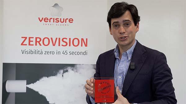 Verisure ZeroVision - Eletto Prodotto dell'Anno 2021 - Sistemi di sicurezza