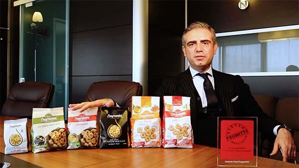 Antonio Fiore Fragrantini - Eletto Prodotto dell'Anno 2021 - Snack salati
