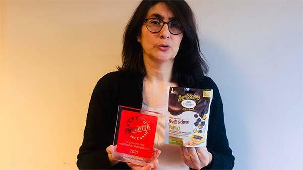 L'Angelica Buonissima Fruits&Choco Papaya - Eletto Prodotto dell'Anno 2021 - Snack salutistici dolci