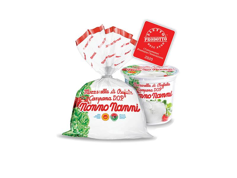 Nonno Nanni Mozzarella di Bufala Campana D.O.P.