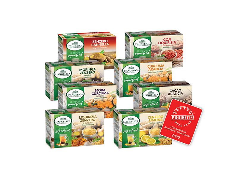 L'Angelica Le Tisane Calde Superfood