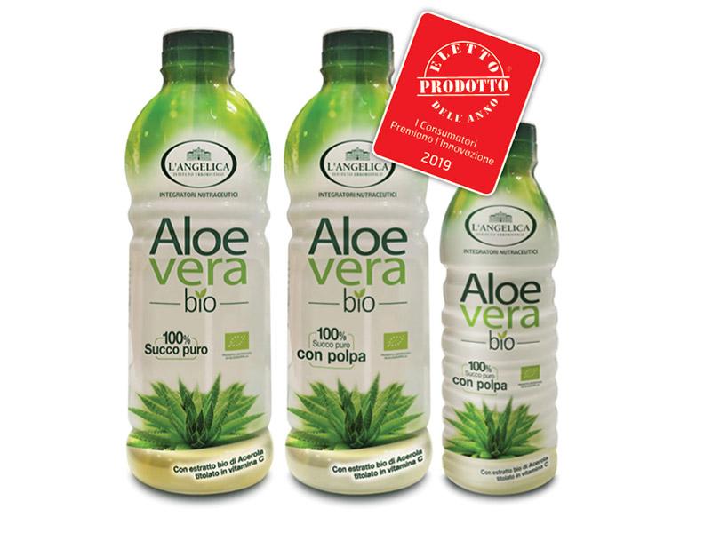 L'Angelica Integratore Succo Puro Aloe