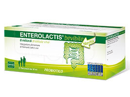 Enterolactis Drycap 12 Flaconcini