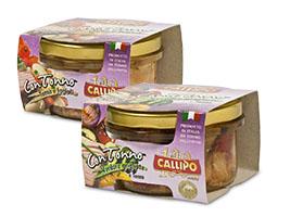 """Callipo ConTonno """"Tonno e Fagioli"""" e """"Verdure Grigliate e Tonno"""""""