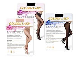 Golden Lady MySecret 20 e 40 collant e MyBeauty 50 collant senza cuciture