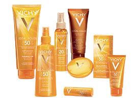 Protezioni Solari e Autoabbronzanti Vichy