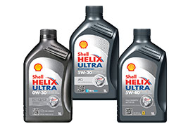 Shell Helix Ultra con PurePlus Technology