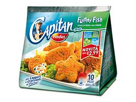 Capitan Findus Funny Fish