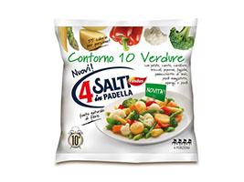 4 Salti in Padella Findus - Contorno 10 Verdure