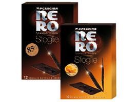 Nero Perugina Foglie gusto arancia e 85% cacao