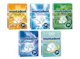 Mentadent Chewing Gum