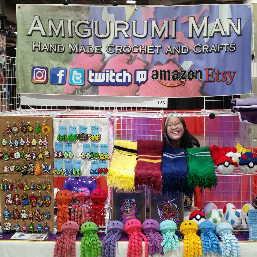 Amigurumi Man