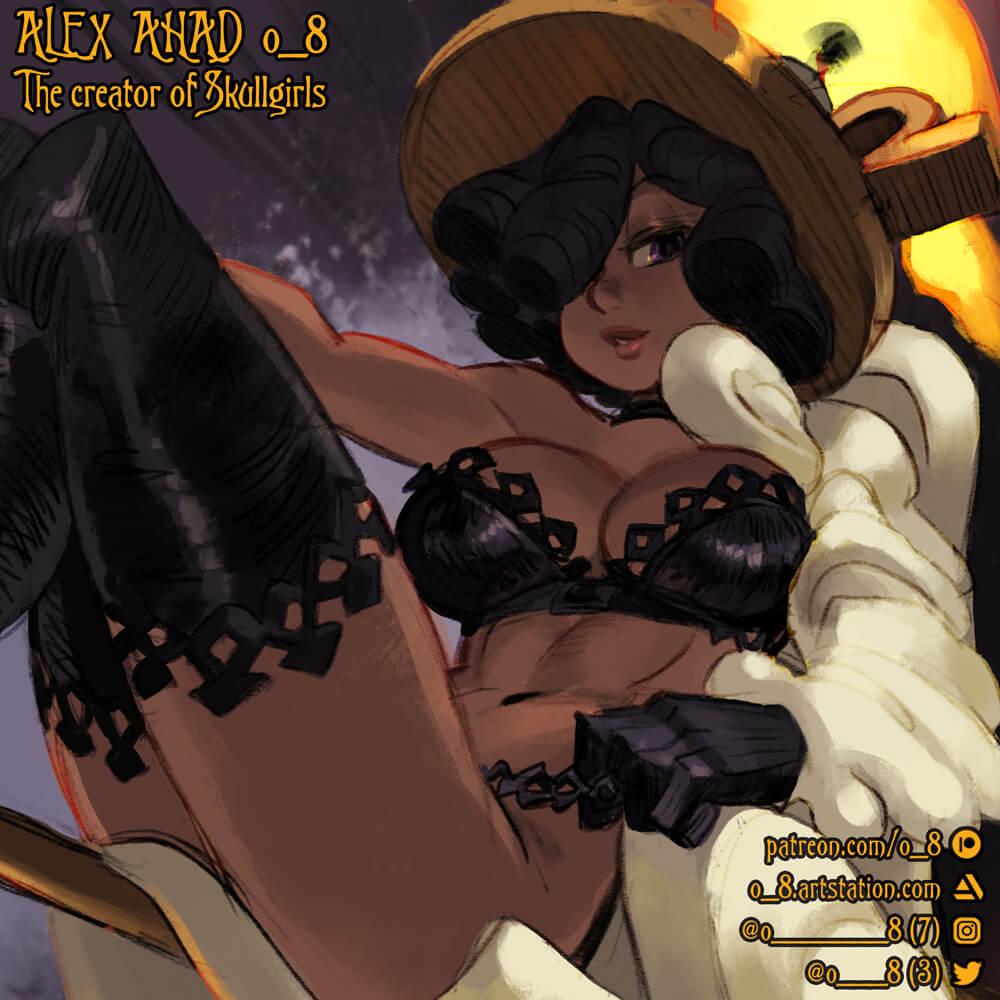 Alex Ahad o_8