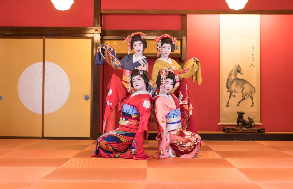 The Maiko of Sakata City