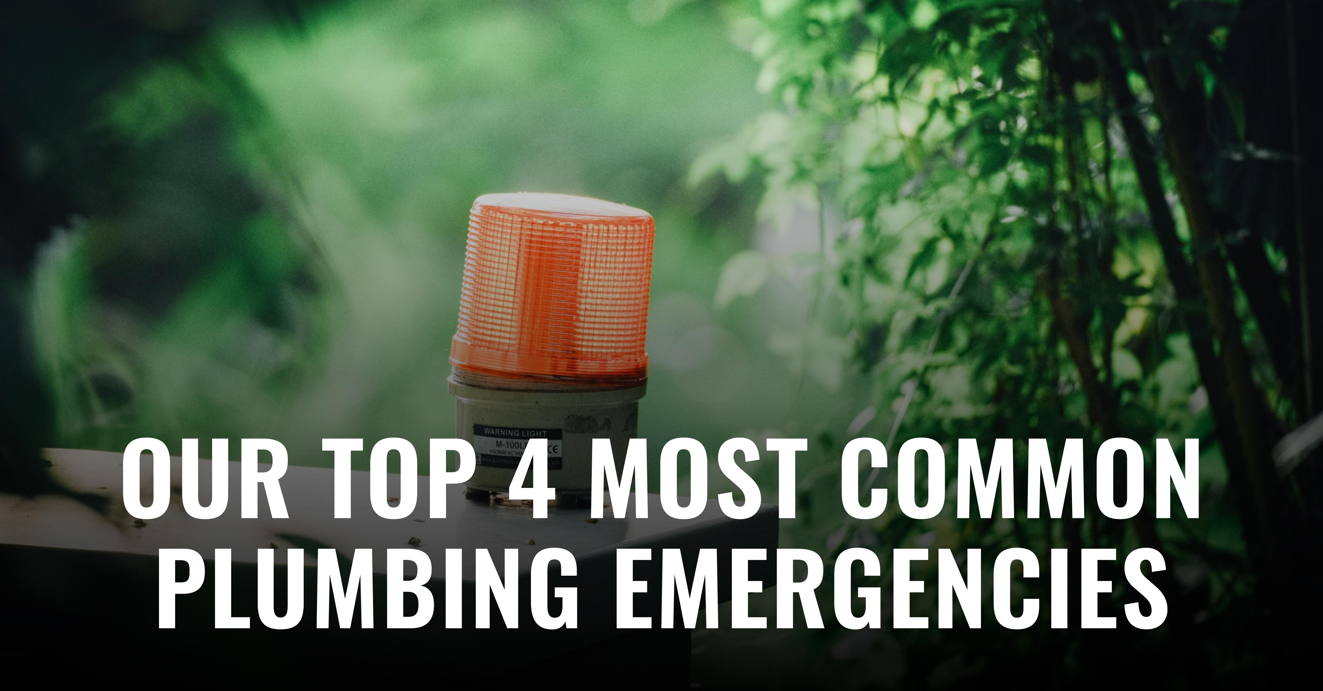 What are some of our most common emergency calls for at Anacortes Plumbing? Well, you are about to find out! You will also learn some preventative measures you can take to avoid some of these issues.