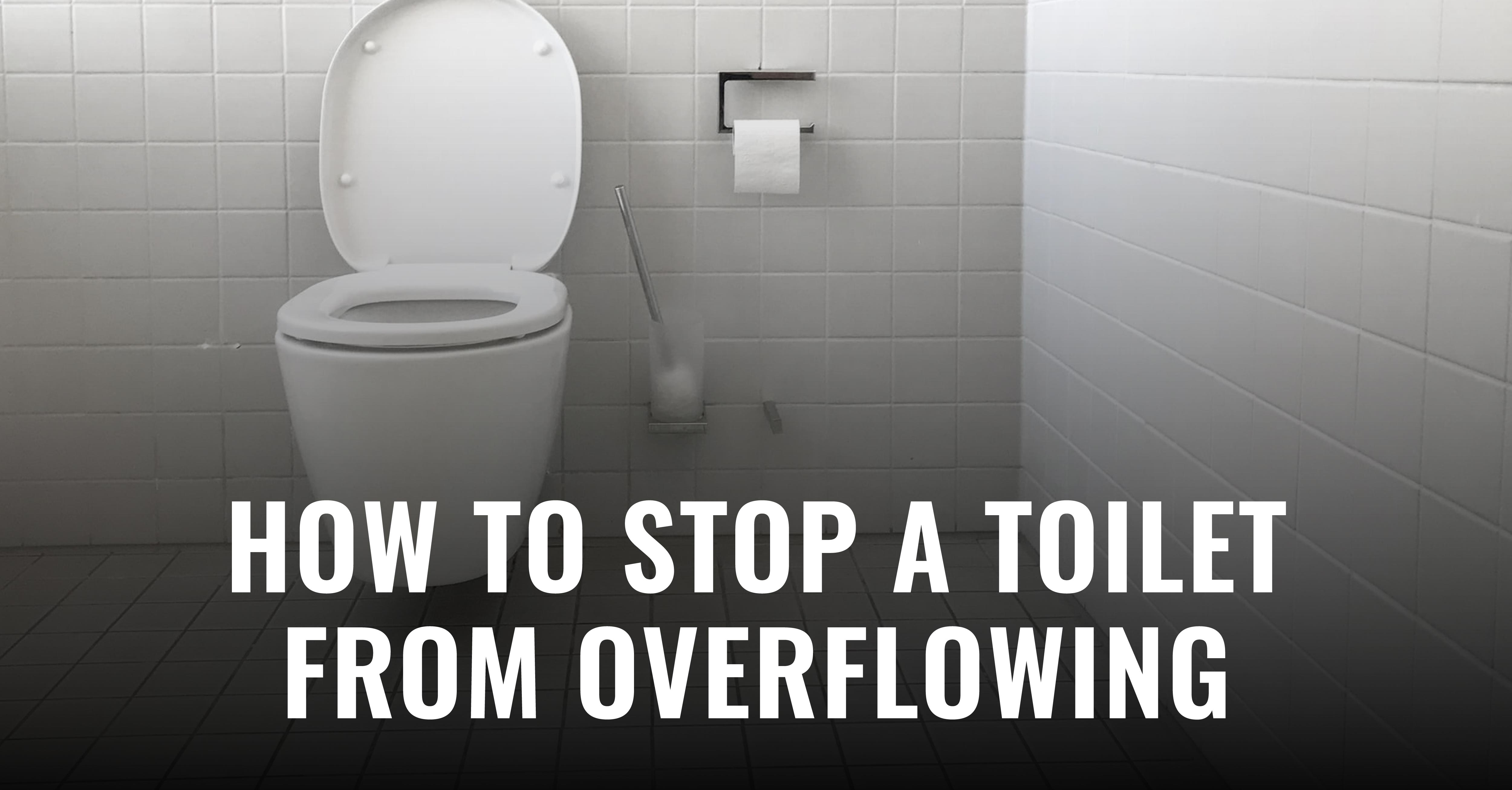 Got a clogged toilet? Well, this blog post has a step-by-step guide on how to prevent your toilet from overflowing. Now, read it quickly - you don't have much time to lose!