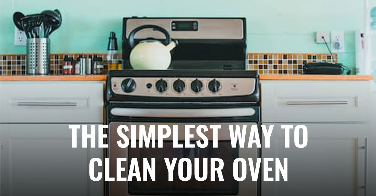 Whether you're just now diving into spring cleaning or trying to clean your way into getting that security deposit back, the oven always seems to be the most daunting task. However, cleaning your oven doesn't have to be difficult. In fact, with this simple trick, you can clean your oven in no time with half the elbow grease.