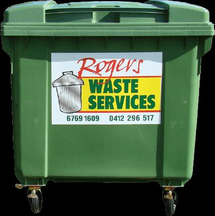 1100  Litre Plastic garbage