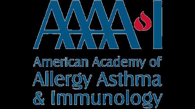 American Academy of Allergy Asthma & Immunology logo